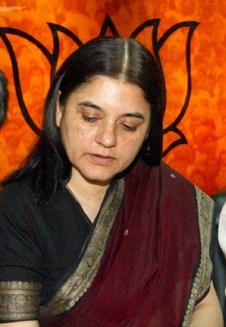 Image result for menka gandhi bjp