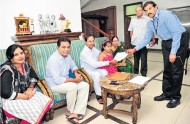 CM-KCR-giving-details-to-Survey-Enumarators