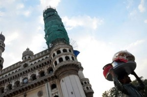 The Archaeology Department officials have embarked on a mission to spruce up the historic Charminar in Hyderabad.