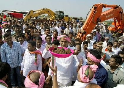 1 1 lakh acres to be irrigated in Medak     Mission Telangana