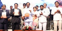 CM-KCR-launches-Telangana-Industrial-Policy