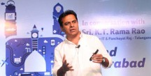 Brand Hyderabad Presentation By IT Minister KT Rama Rao