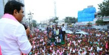 KT-Rama-Rao-in-Road-Show-as-part-of-GHMC-Election-Campaign