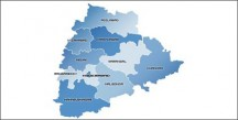 Telangana-Map-with Districts