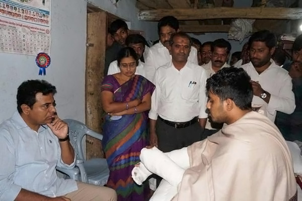 Minister-KTR-enquiring-about-health-Condition-of-Babu