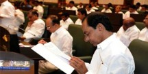 CM-KCR-at-Telangana-Legislative-Assembly