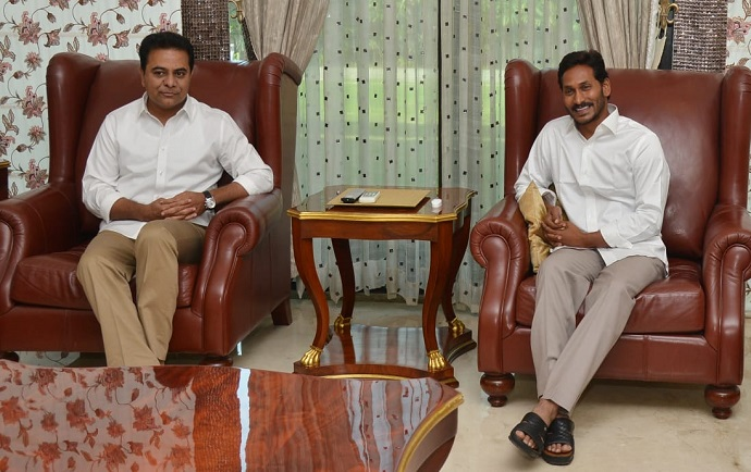 KTR and YS Jagan meet to discuss Federal Front | | Mission